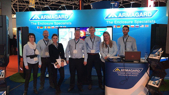 Armagard Team Integrated Systems Europe 2019