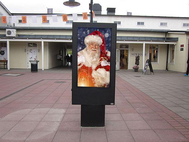 Digital extérieur christmas