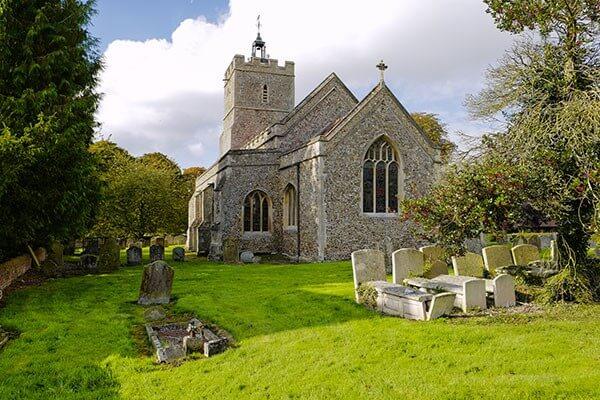 Les églises en particulier sont bénies par l'affichage numérique