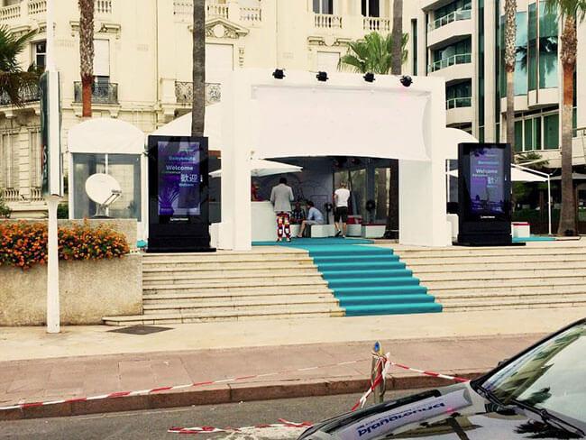 Signalisation numérique d'hôtel