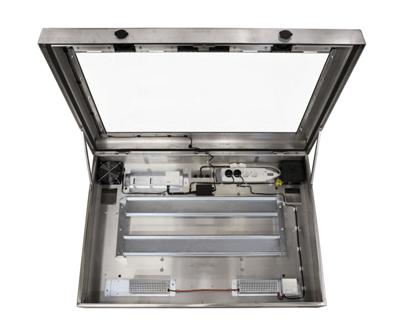 armoire LCD en acier inoxydable