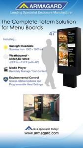 Tableaux de menus numériques