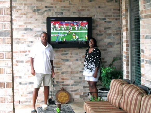 caissons TV extérieur