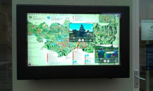 boitier LCD exterieur