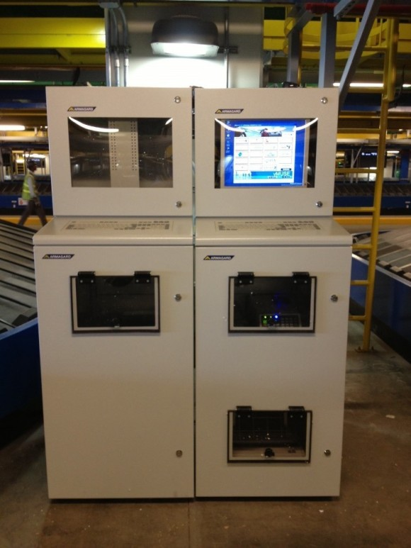 l'armoire informatique industrielle