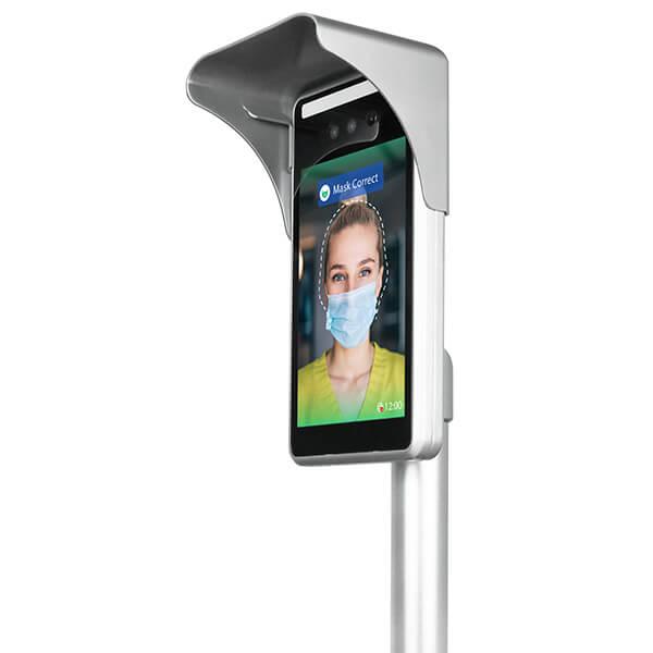 écran de reconnaissance faciale et temperature avec masque | Gamme de produits