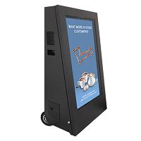 Affichage digital stop-trottoir restaurant | Gamme de produits