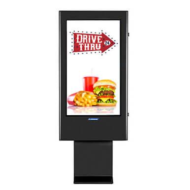 Affichage dynamique menu outdoor