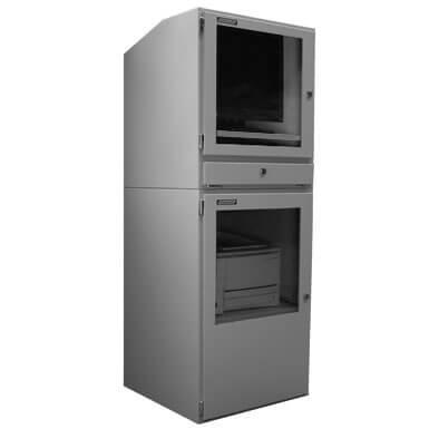 armoire informatique industrielle protection int gr e tout en un aux normes ip54 comprenant un. Black Bedroom Furniture Sets. Home Design Ideas