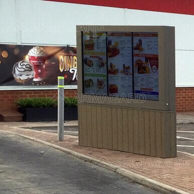 carte de menu digitale outdoor