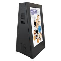 double stop trottoir digital extérieur| gamme de produits