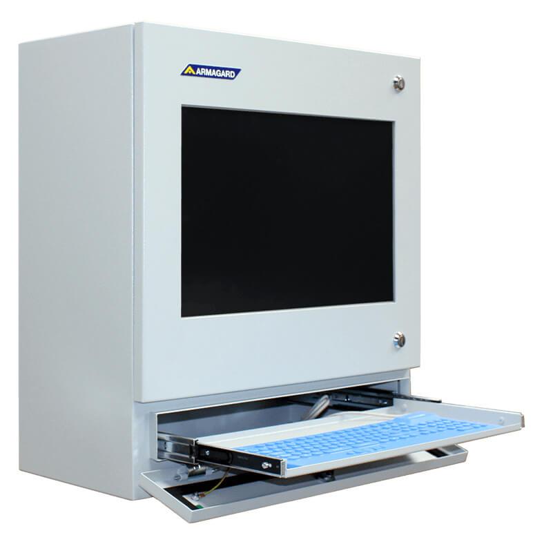 moniteur tactile pc 22 industriel bo tier de l 39 ordinateur de protection avec cran large. Black Bedroom Furniture Sets. Home Design Ideas