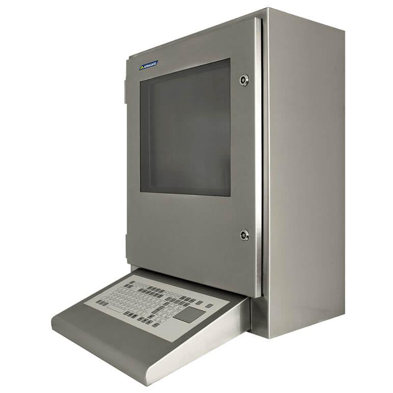 ordinateur etanche industriel armoire herm tique ip65 et protection pour moniteur armagard ltd. Black Bedroom Furniture Sets. Home Design Ideas