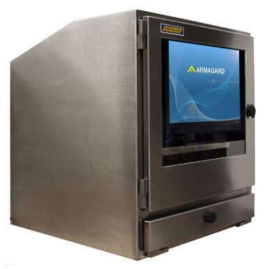 Armoire informatique ferme inox | Protection étanche et hermétique pour ordinateur et écran ...