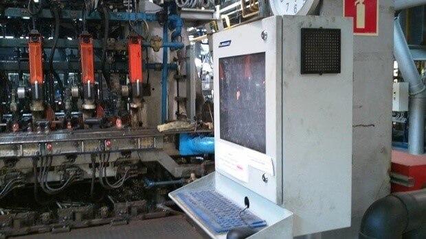 armoire LCD à l'intérieur